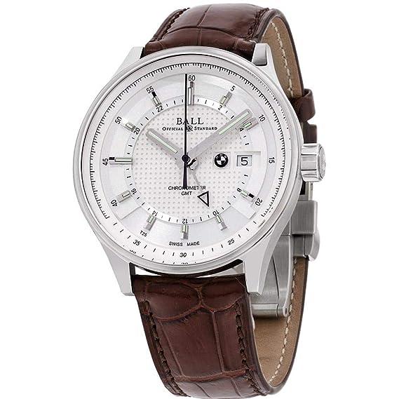 Ball BMW Reloj de Hombre automático 42mm Correa de Cuero GM3010C-LCFJ-SL: Amazon.es: Relojes