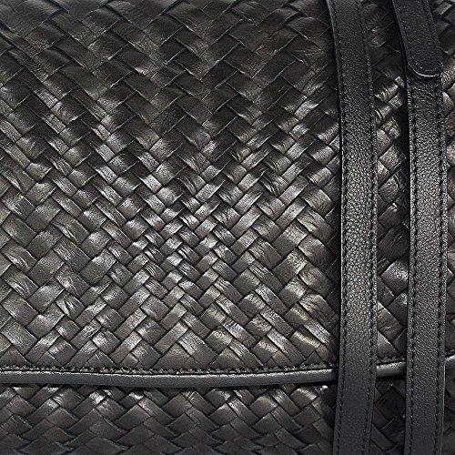 cm x 33 Nero Black 23 Sac x femme 6 BxHxT House pour Noir Reptile's bandoulière fqg6ga