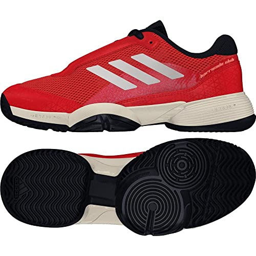0695794a80d4fb adidas Unisex Kids  Barricade Club Tennis Shoes  Amazon.co.uk  Shoes ...