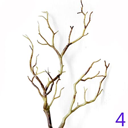 say hello artificial tree branch wood white plastic branches plant