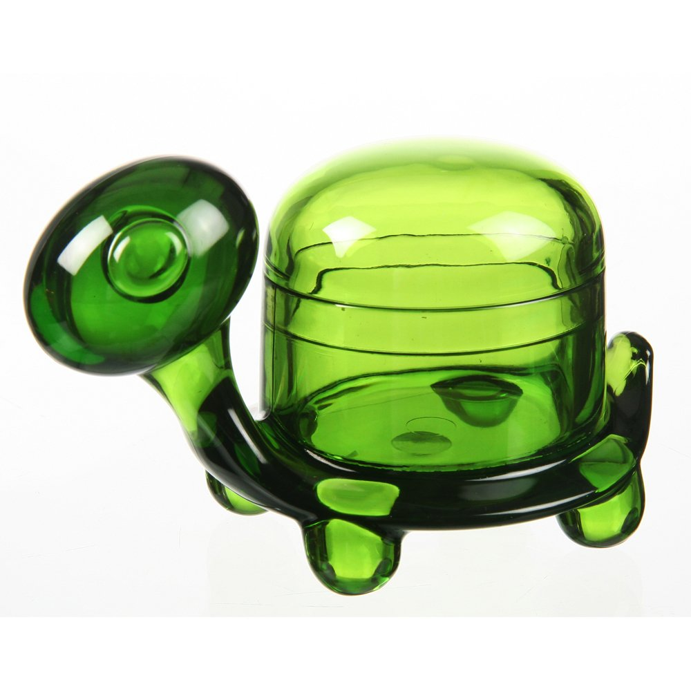 (German Design) Felli -Turtle Clip Holder. Cute/adorable gift, set of 2(green)(U417440)