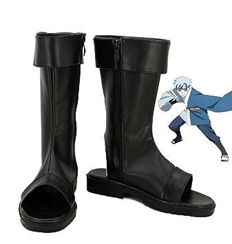 Boruto: Naruto the Movie Mitsuki Cosplay Shoes Boots Custom Made