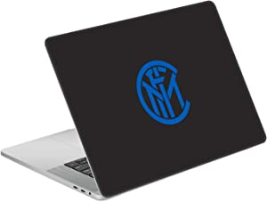 """Head Case Designs Officially Licensed Inter Milan Plain Full Logo Matte Vinyl Sticker Skin Decal Cover Compatible with MacBook Pro 15.4"""" A1707/A1990"""
