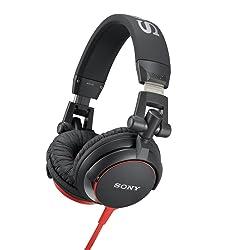 Sony MDRV55 Red Extra Bass & DJ Headphones