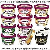 ハーゲンダッツ【HD】アイスクリーム 【10個セット】+丹波 篠山ご当地アイス 【1個】おまけ付き