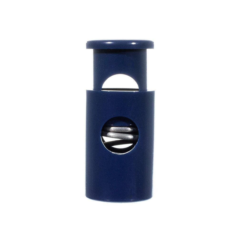 Neon Green, 5 Pack Single Barrel Hole Top Cord Locks USA Made
