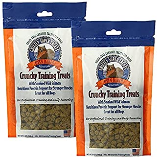 Grizzly Super TreatsTM Crunchy Training Treats make training your dog easy and nutritious! With no added grains, fillers, salts or sugars, these treats make a healthy reward both you and your pet will love. These treats contain Wild Alaskan S...