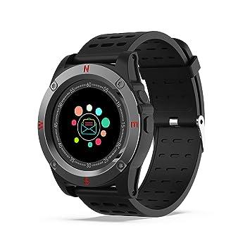 Reloj Inteligente, AIVEILE Smartwatch Bluetooth con cámara Ranura para Tarjeta SIM Pantalla táctil con Podómetro, Calendario, Escalada Reloj Corriendo para ...