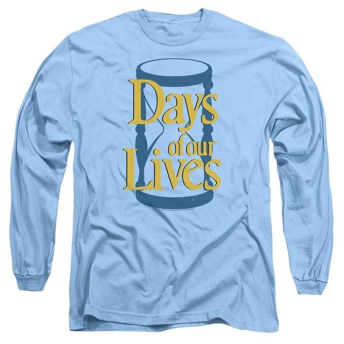 8f8e319a0 Amazon.com: Days of Our Lives Hourglass Men's Long Sleeve T-Shirt ...