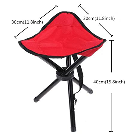 Superwinger Folding Stool,Small Lightweight Portable Seat,Foldable Tripod  Camp Chair For Camping, Fishing, Beach Events,Travel,Parks,Gardening,Black:  ... Design Ideas