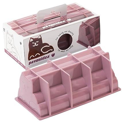 """Buzón molde de gato """"Cat Caja de 100% silicona platino, Bread"""