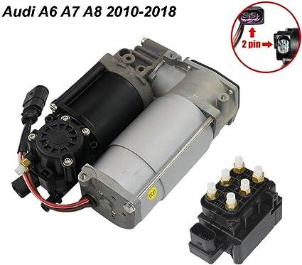 Luftfederungskompressor Pumpe Ventilblock 4g0616005c Scsn Auto
