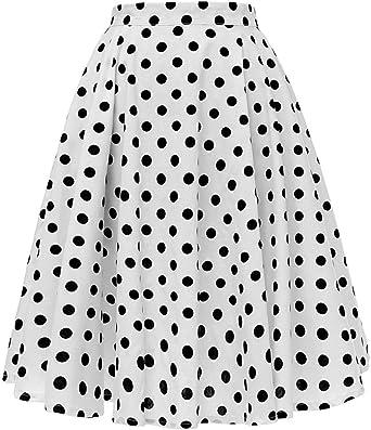 Faldas Womens Casual Moda De Verano Falda 50 S Mode De Marca Retro ...