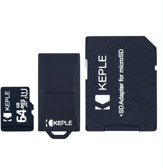 64GB microSD Memory Card | Micro SD Class 10 Compatible with LG G3 G4, G4c, G5, G6, K10, Zone 4, LG V30S, Ray, X Cam, Stylus 2, G Pro 2, G Flex 2 and ...