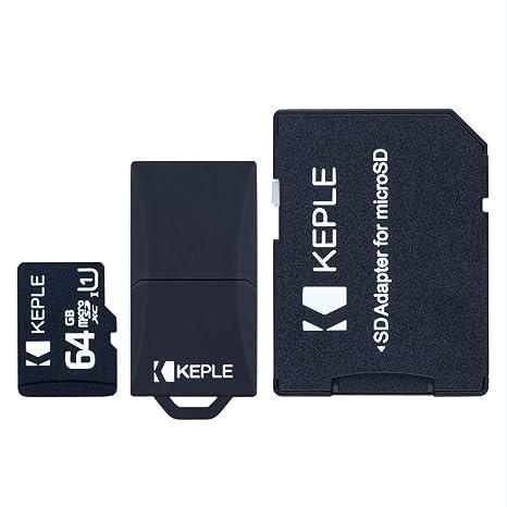 Tarjeta de Memoria Micro SD da 64 GB | MicroSD Class 10 Compatible ...