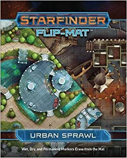 Starfinder Flip-Mat: Urban Sprawl: Amazon.es: Paizo Staff ...