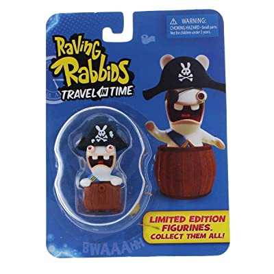 """Raving Rabbids \""""Travel in Time\"""" Collectible Figurine - \""""Pirate\"""": Toys & Games [5Bkhe0505168]"""