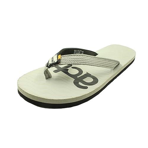 Buy ACTION Men's Grey Flip-Flops - 12