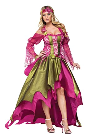 122a77d7aad Fun World Women's Renaissance Nymph Costume