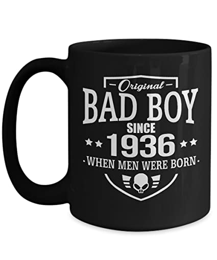 Black Coffee Mug 15oz Bad Boy Meaning Birthday Gifts Or Souvernir For Your Friends Relatives