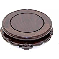 GOLDY&WENDY Rosewood Circular Display Stand (2″ Inside Diameter, 1 Pack)