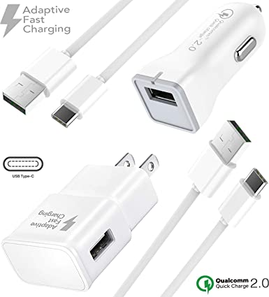 Amazon.com: Samsung Galaxy J7 Prime Cargador Kit de cable ...