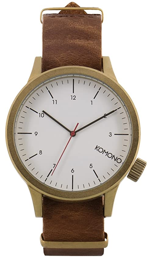 Komono Reloj Analógico de Cuarzo para Hombre con Correa de Cuero – KOM-W1931