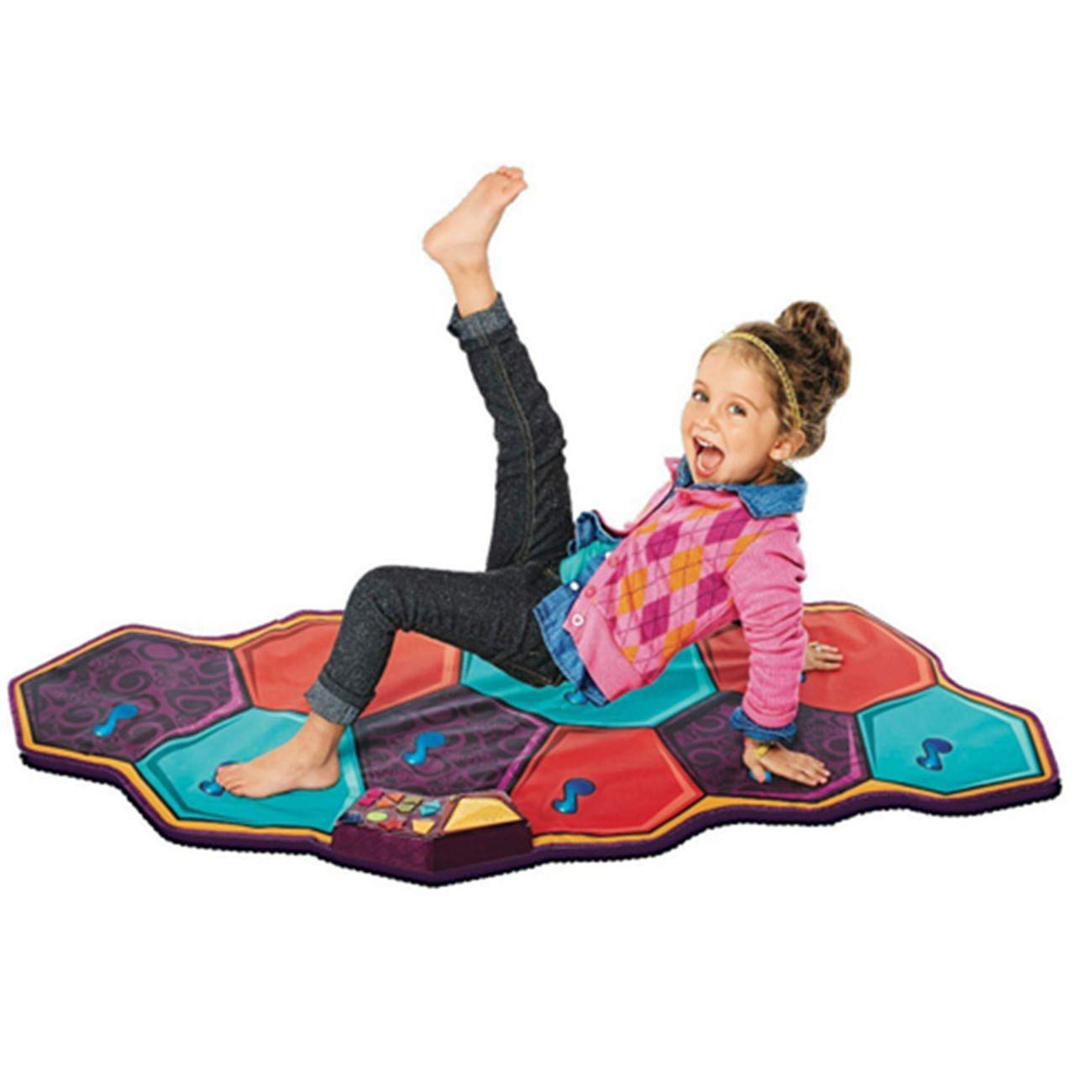 Dance mat children's game blanket sports hot dance children crawling mat music dance blanket by Shwk (Image #1)