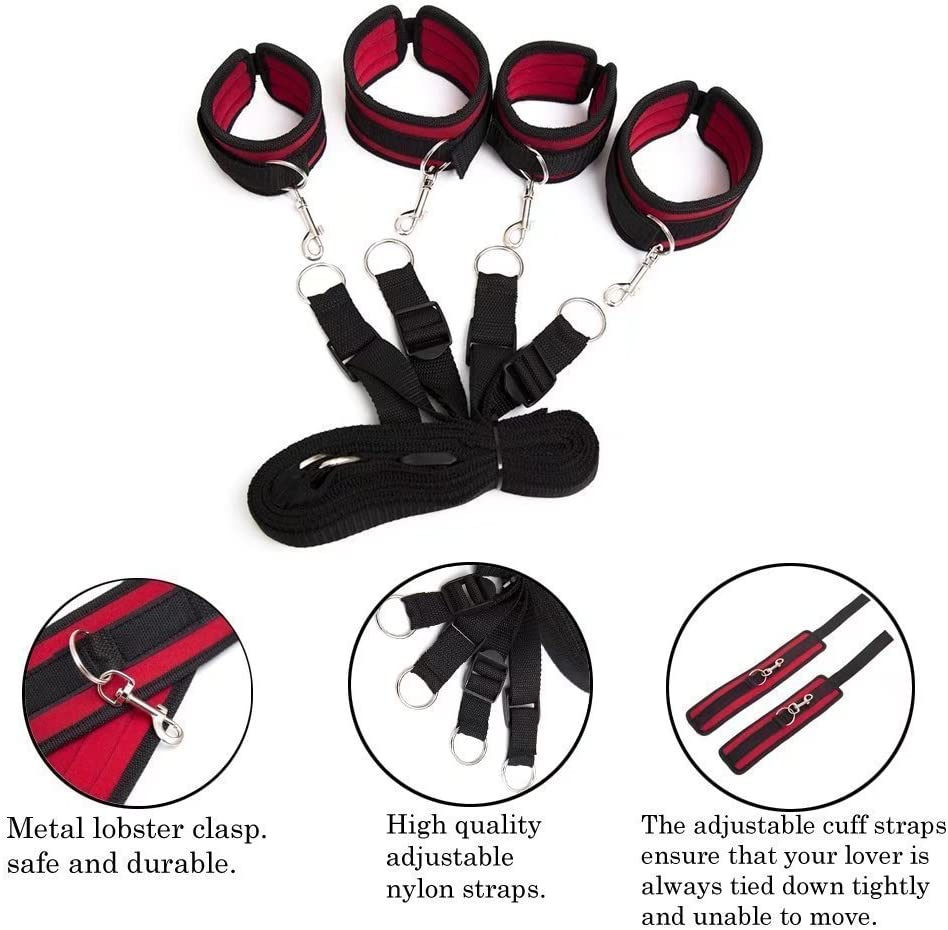 exciting Fitness Night Joyful Toy Set Eye mask Gift for him or her DanTanes Nylon Bed Set