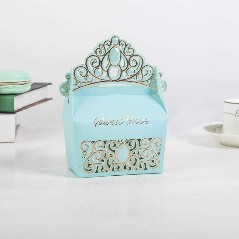 Amazon.com: Caja de caramelos de corona colorida con luz ...