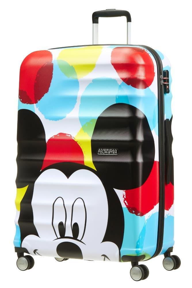 American Tourister - Disney Wavebreaker - Spinner 55/20 Bagaglio a mano, 55 cm, 36 liters, Multicolore (Donald Duck) 85667/5278