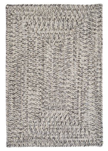 Corsica Rectangle Area Rug, 5 x 8 , Silver Shimmer