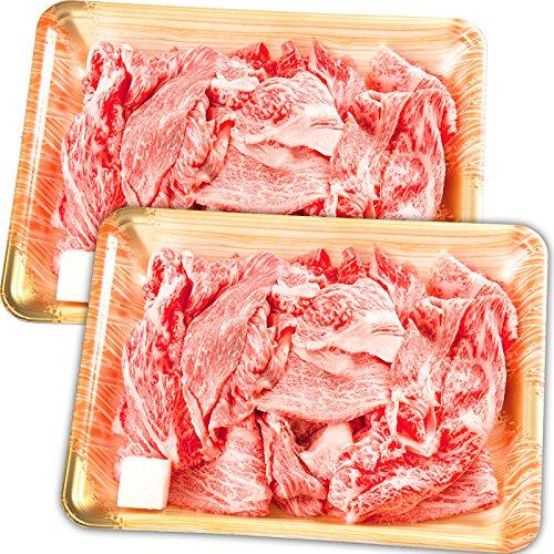 【肉のひぐち】 飛騨牛 切り落とし肉 (500g(250g×2パック))