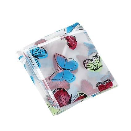 Amazon.com: PEVA Modelo de mariposa Traje de ropa a prueba de polvo cubierta del bolso de 130cm x 60cm: Kitchen & Dining