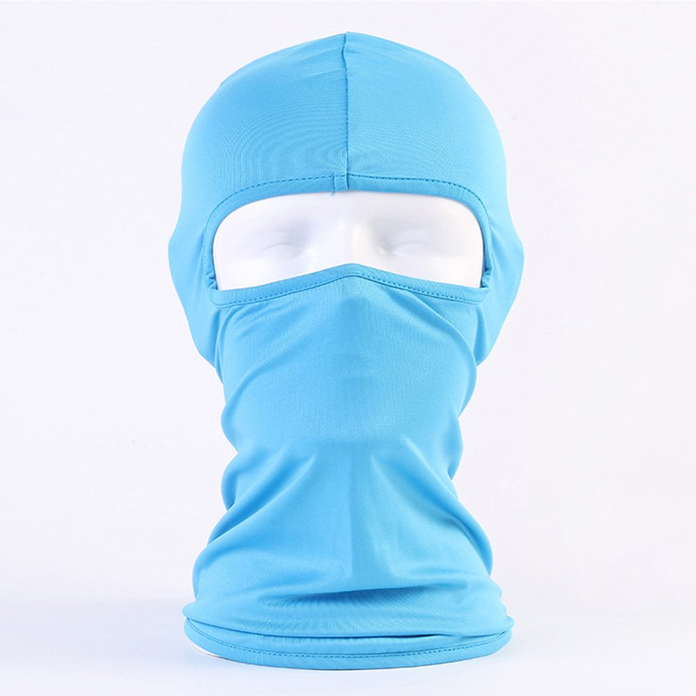 Smori Lycra Fabrics Ski Face Mask Motorcycle Cycling Bike Bandana Hiking Skateboard Balaclava - Black
