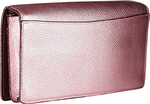 in Metallic Blush Metallic Over Leather Crossbody Dk Clutch COACH Womens Fold wRXxzZXqT