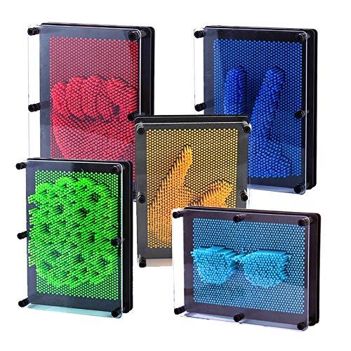 l'aiguille Moule pour Adultes créatif Bleu Clone Art Toy Rouge Dastrues 3D Shape Enfants changehold Pin Sculpture pinscreen de vOFvA7Wq