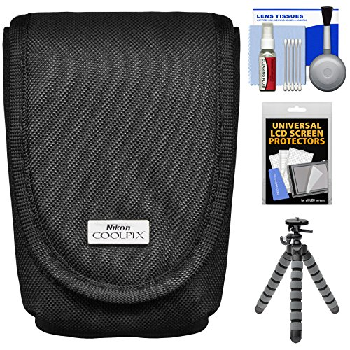nikon-coolpix-5879-digital-camera-case-with-flex-tripod-accessory-kit-for-aw110-aw120-p340-s01-s02-s