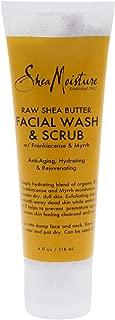 product image for Sheamoisture Raw Shea Butter Facial Wash & Scrub - 4 Oz