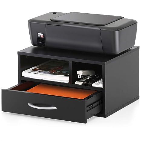 Amazon.com: FITUEYES soportes para impresora de madera con ...