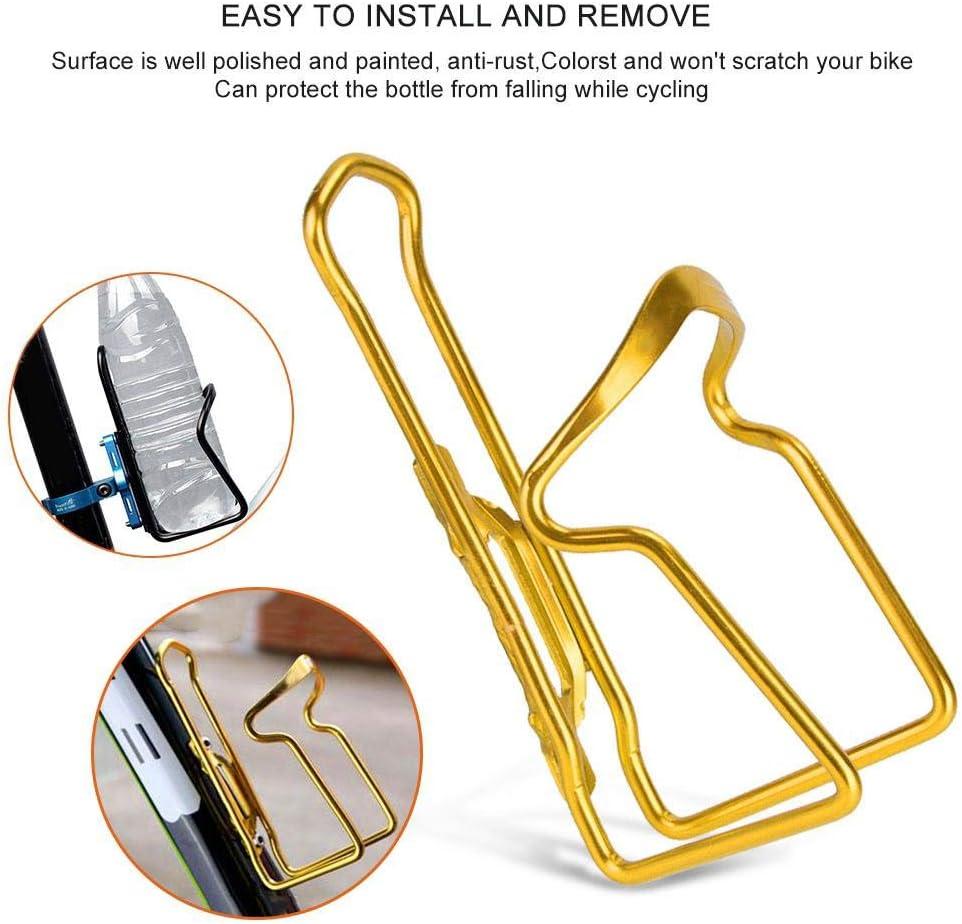 Aluminum Alloy Bike Bottle Holder Lightweight Water Bottle Holder Cages Brackets for Bicycle Accessory Bike Bottle Rack