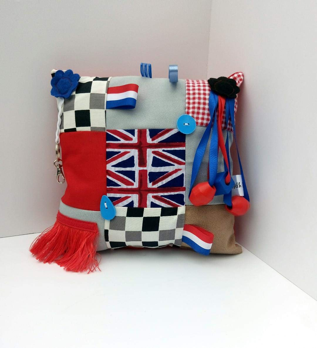 Great Britain themed Fidget Cushion dementia activities products