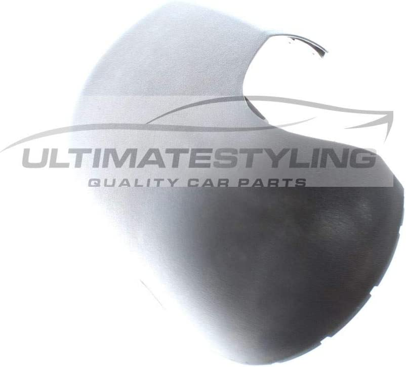 Textured For Drivers Side Ultimate Styling Aftermarket Replacement Wing Mirror Cover Cap Colour Of Cover Black RH Right Hand Side