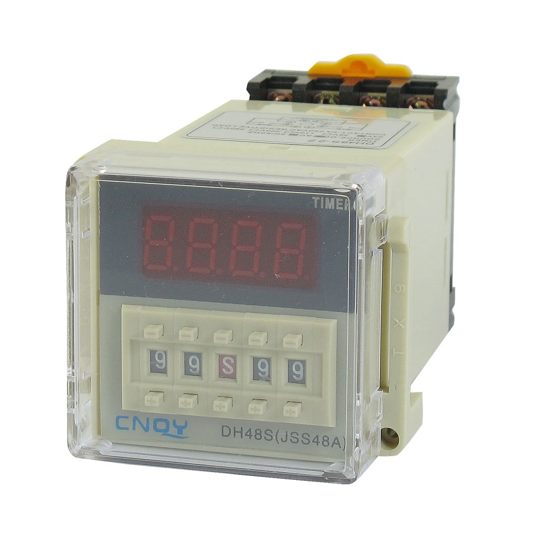 uxcell DH48S-2Z Power on Time Delay Relay 8-Pin
