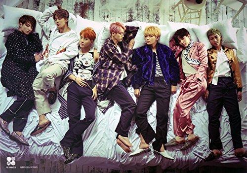 BTS Bangtan Boys OFFICIAL POSTER