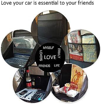 Alixin Cp079 Faltbar Tragbar Reise Mehrzweck Laptop Tasche Ständer Für Auto Auto Laptop Halterung Tablett Auto Fahrzeug Rücksitz Laptop Tablet Notebook Speisen Arbeit Halterung Ständer Schreibtisch Auto