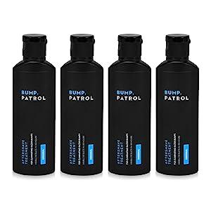 Bump Patrol Original Formula Aftershave for Razor Bumps, Razor Burn, and Ingrown Hair Treatment for Men and Women - Pack of 4