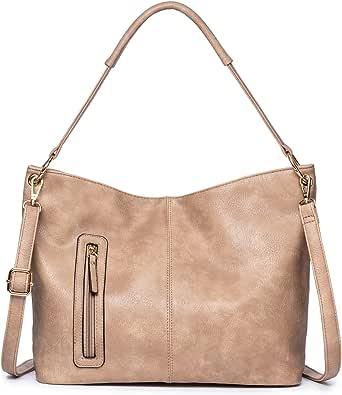 JOSEKO Bolso de mano para mujer, bolso de mano, bolso de hombro elegante, bolso Hobo, bolso grande para mujer, adecuado para ir de compras y trabajar