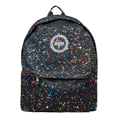 HYPE Backpack Primary Speckle Black School Bag - HYPE Bags
