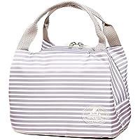 宝优妮 手提帆布饭盒袋子保温便当包袋加厚带饭装午餐拎包(供应商直送)